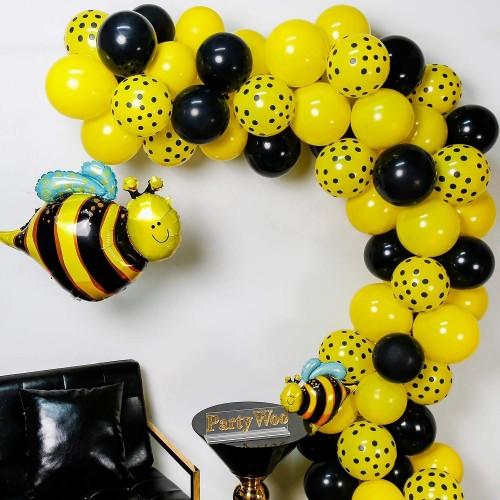 Cascata di palloncini tema Ape