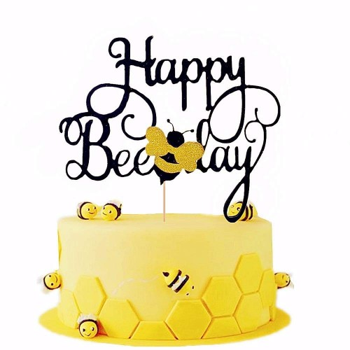 Cake topper forma di ape