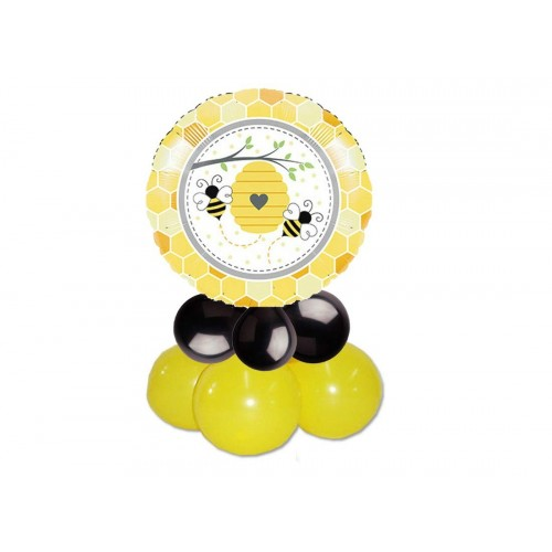 Centrotavola palloncini Foil Ape - Bee