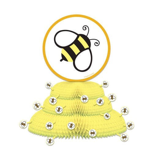 Centrotavola a nido d'ape