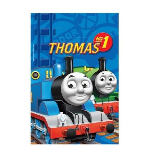 Sacchetti Trenino Thomas, 8 bustine di plastica, idea regalo