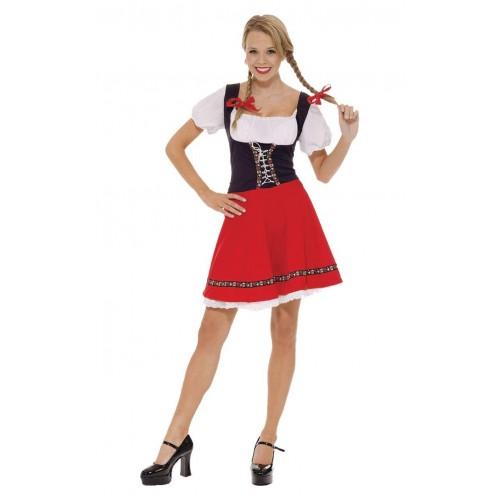 Costume di Heidi per adulti