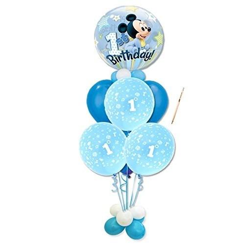 Composizione di palloncini tema Topolino Baby