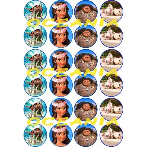 Fantastiche Mini cialde Oceania Disney
