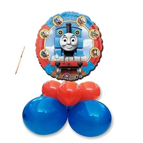 Centrotavola palloncini Trenino Thomas