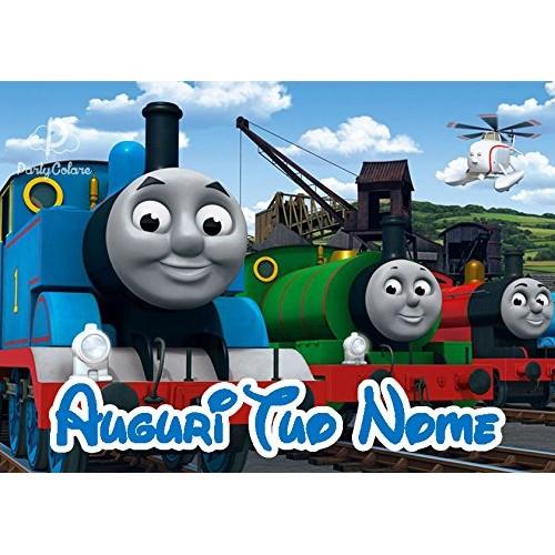 Cialda personalizzata Trenino Thomas