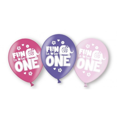 Palloncini di lattice Fun at One Girl