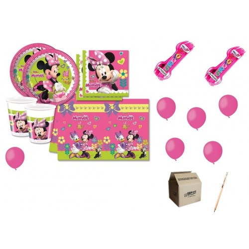 Kit Compleanno Minnie 16 persone