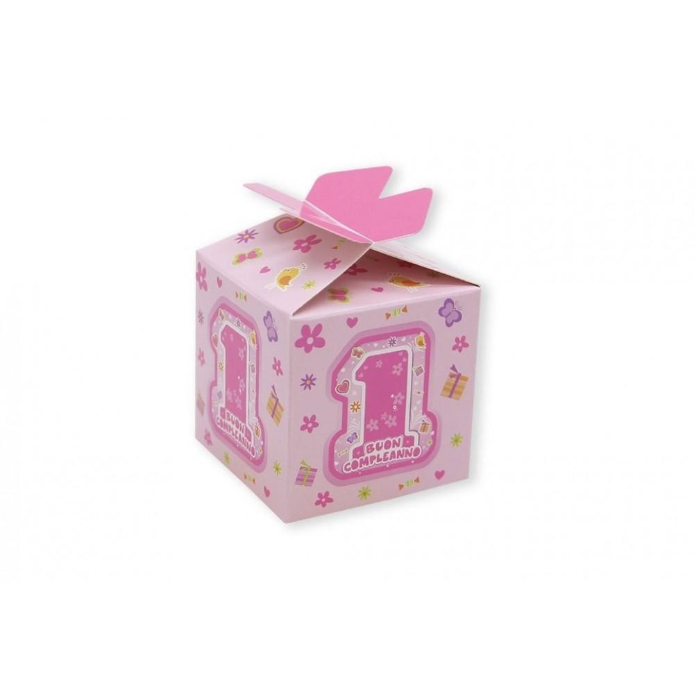 25 scatoline portaconfetti One Pink