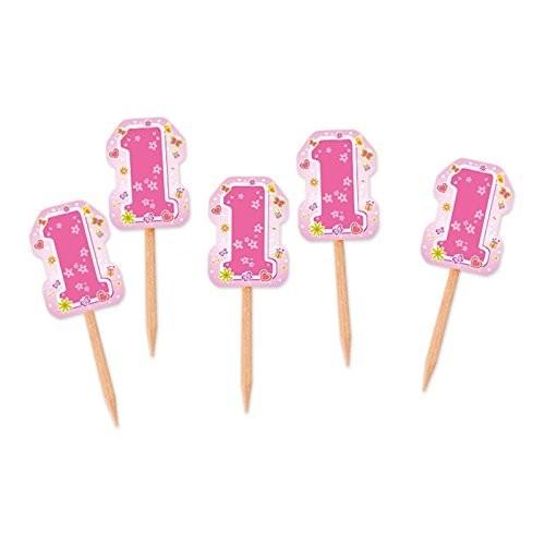 75 stuzzicadenti One Pink Primo compleanno