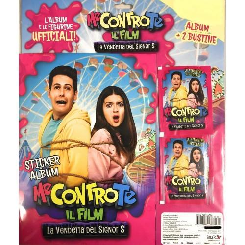 Album con 2 bustine imaggio Me Contro Te Il Film LA Vendetta del Signor S