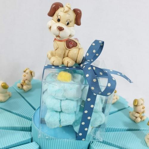 torta bomboniera battesimo animaletti cagnolini a prezzi bassi e scontati torta 14 fette 1 piano