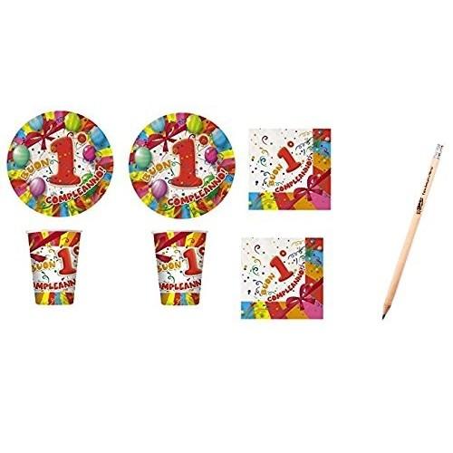 Kit per 20 bambini tema primo compleanno fantasy
