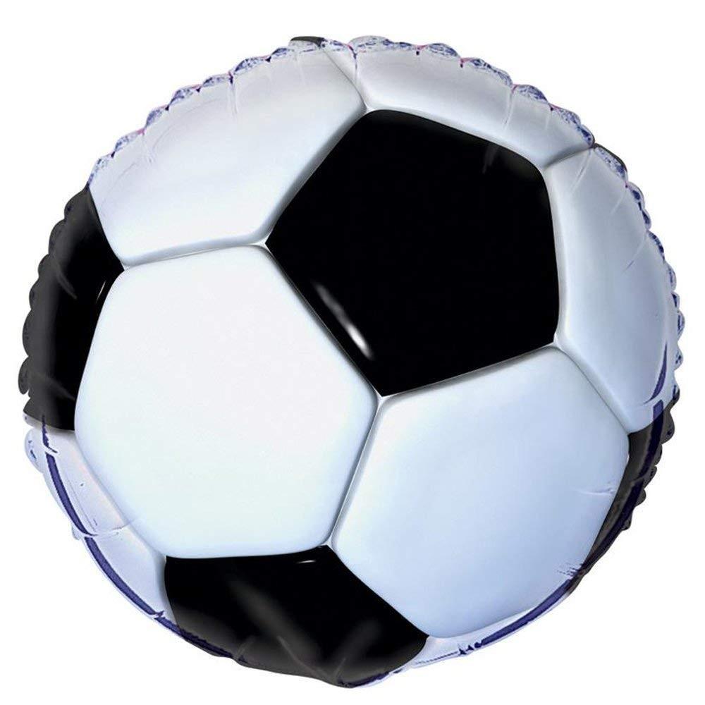 Palloncino calcio, foil 45 cm, per feste