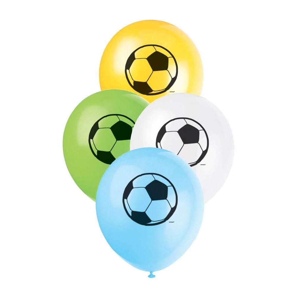 Palloncini in lattice calcio