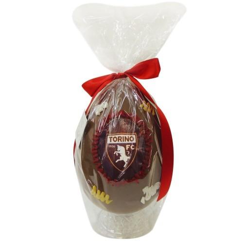 Uovo di pasqua Torino calcio, artigianale, con sorpresa