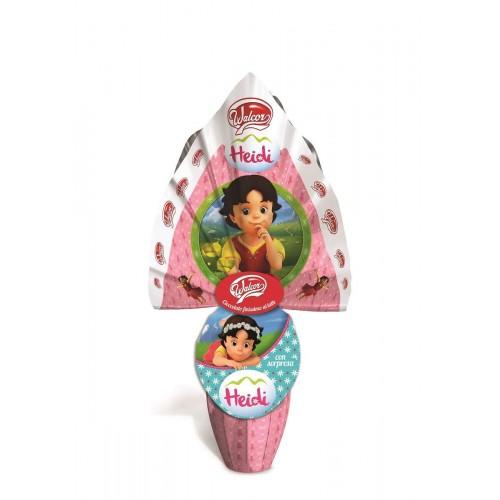 Uovo di pasqua di Heidi di cioccolato