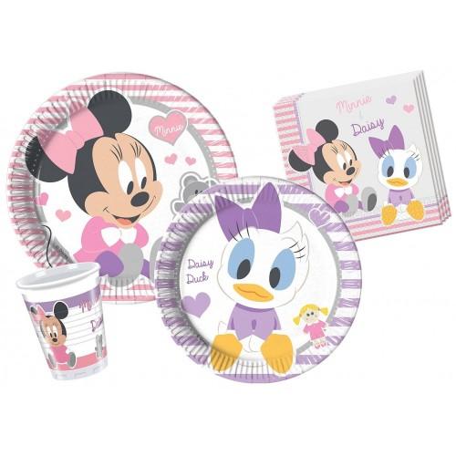 Kit per 24 persone tema Baby Minnie & Daisy Disney