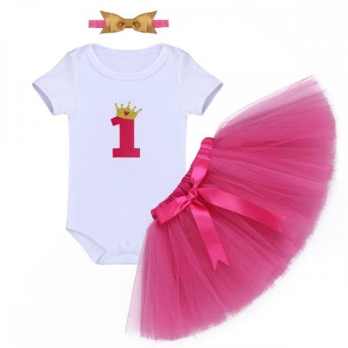 Abito Minnie Primo compleanno per bambina