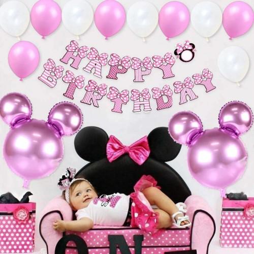 Set decorazioni compleanno Minnie Disney