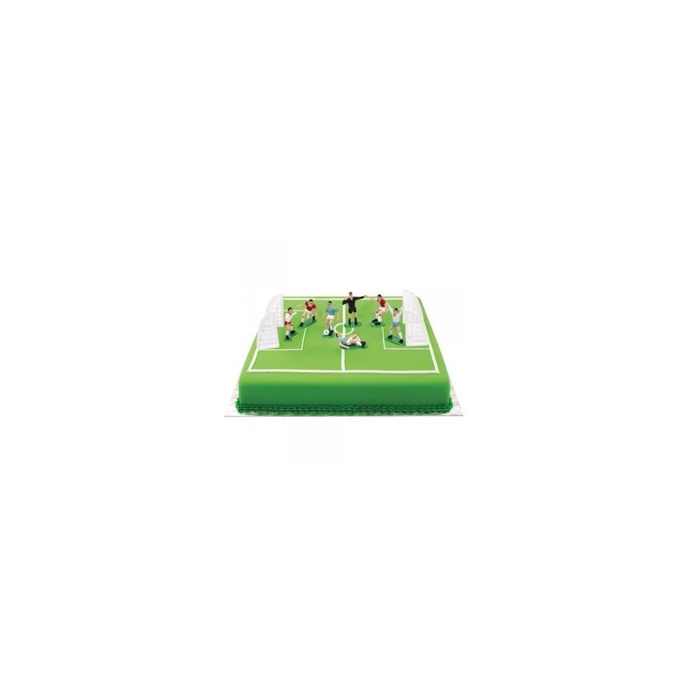 Kit decorazione torta calcio