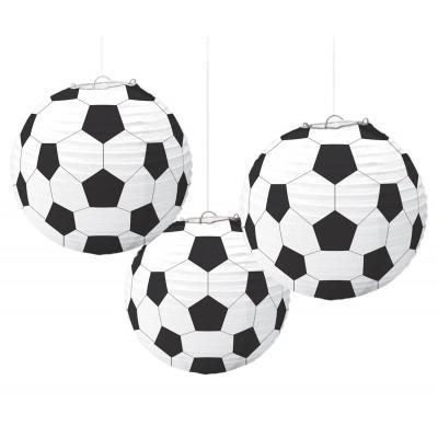 Lanterne di carta calcio