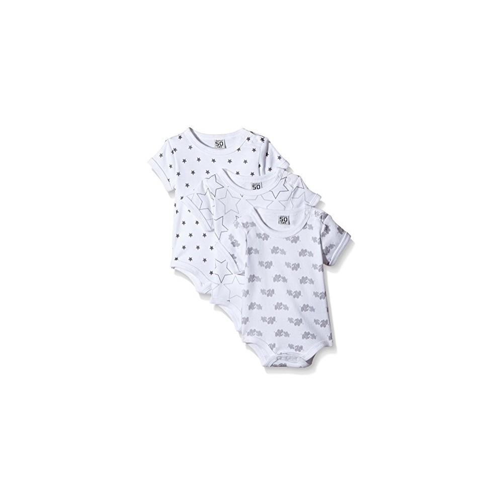Body unisex bianco per neonati