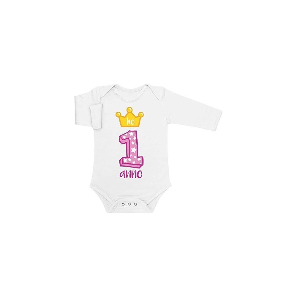 Body Buon 1° Compleanno principessa