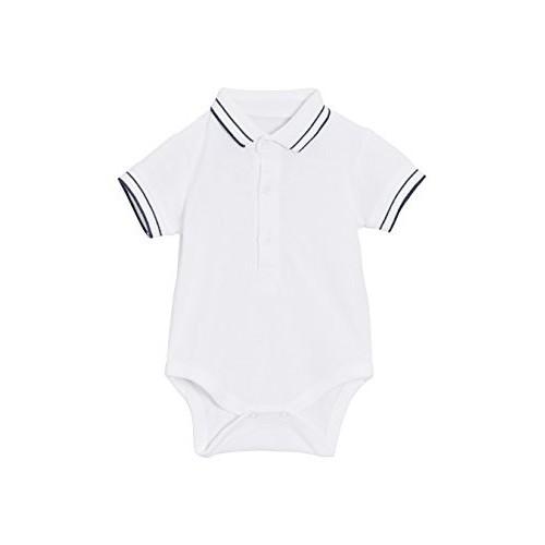 Body vestito bambino con colletto polo