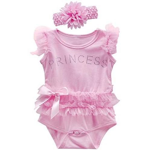 Body con fiocco principessa per bambine