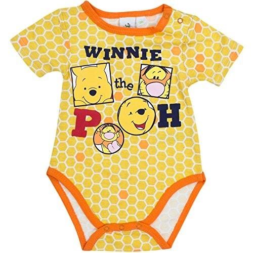 Body neonato motivo Winnie The Pooh