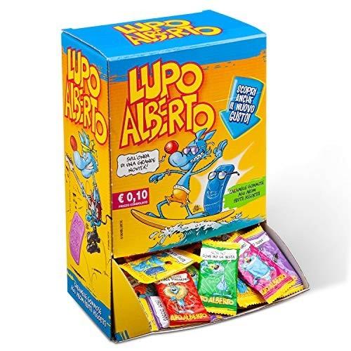 Box 200 caramelle gommose Lupo Alberto