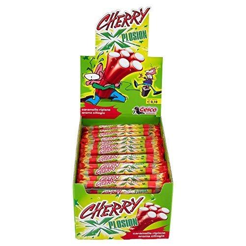 Box con 150 Caramelle gommose ciliegia - Cherry Xplosion