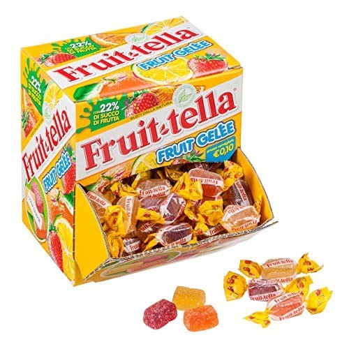 Caramelle morbide alla frutta - Fruittella, 125 pz