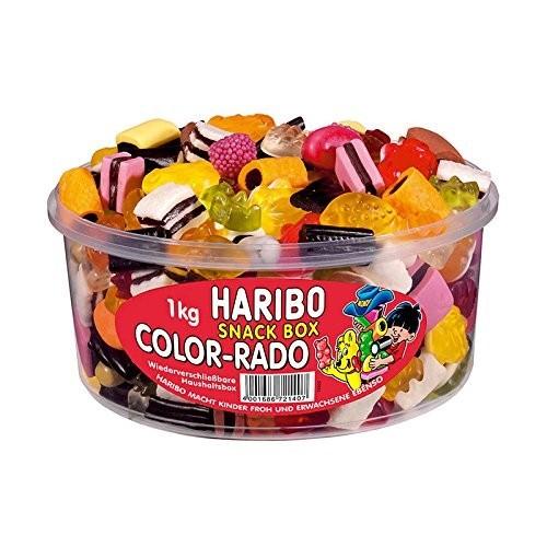 Barattolo caramelle gommose alla frutta - Haribo Color Rado