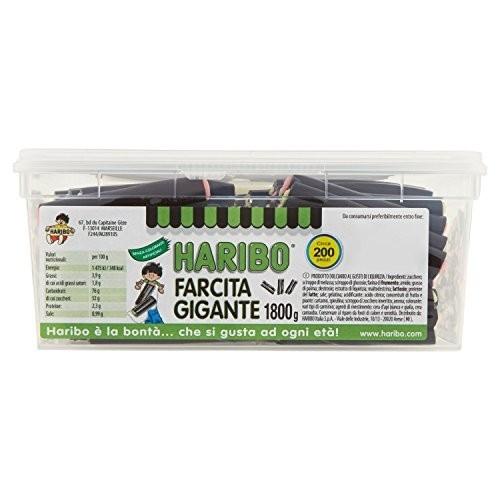 Caramelle gommose gusto liquirizia - 200 pezzi [1800g]