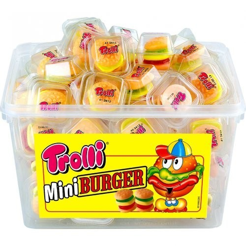 60 caramelle mini burgher gommose