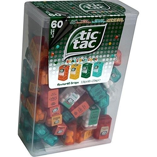 Box con 60 TIC TAC Spender alla frutta