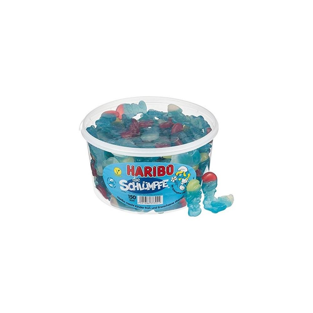 150 Haribo Puffi, caramelle gommose alla frutta