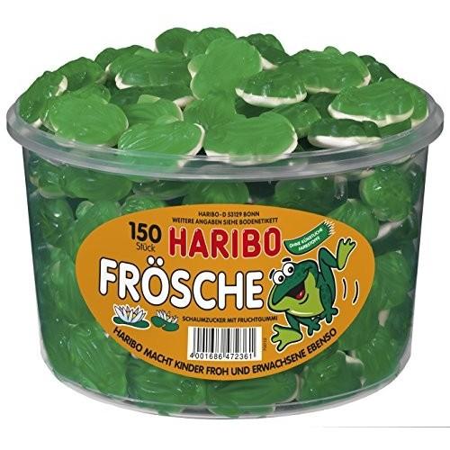 150 Caramelle forma rane - Haribo