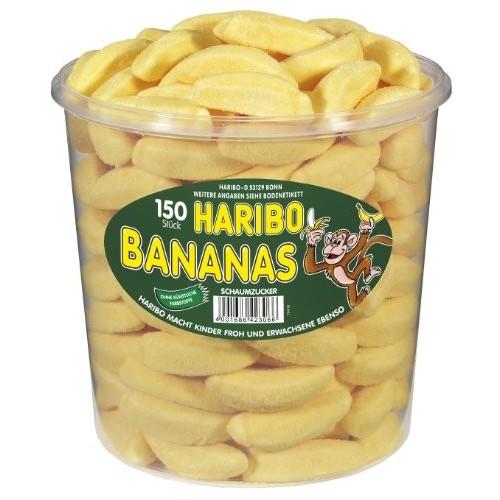 150 Caramelle Haribo Banane  alla Frutta
