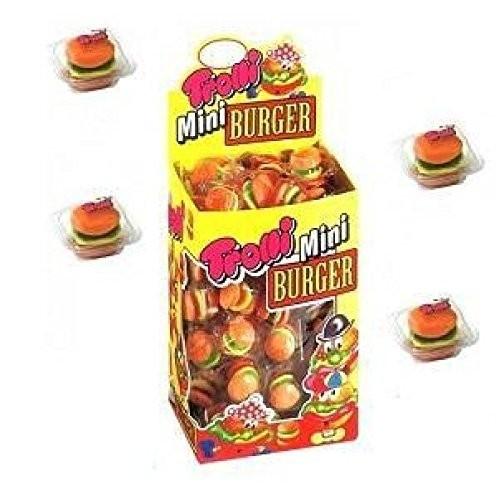 100 caramelle gommose Mini Burger - Trolli