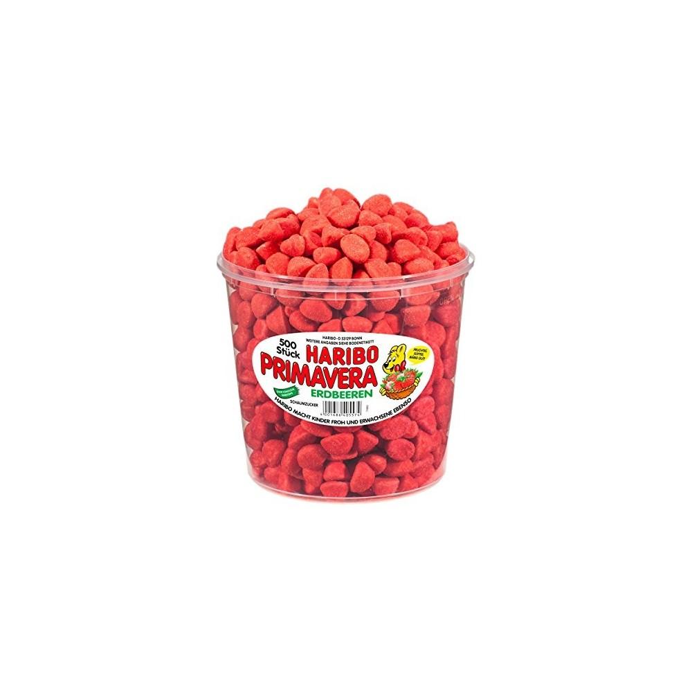 500 Caramelle Piccola Primavera Fragole Haribo