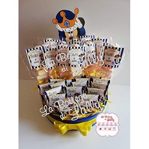 Torta di Mashmallow e Lecca Lecca