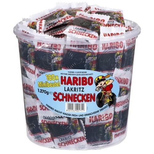 Haribo 100 lumache di liquirizia