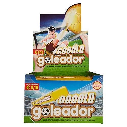 Box con 200 Doppia Caramella Gommosa - Goleador Gooold