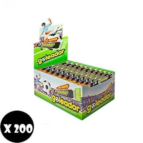 Dispenser con 200 Goleador Liquirizia