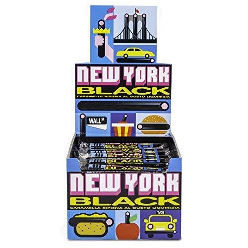 150 Bastoncini di liquirizia - New York Black