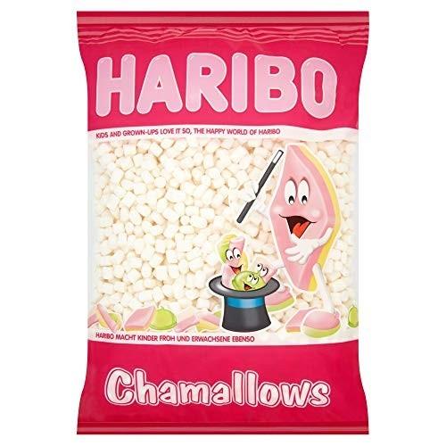 Caramelle Haribo marshmallow bianchi