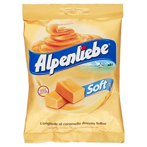 Caramelle moribide al caramello - Alpenliebe Soft
